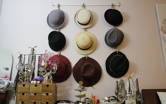 Homemade Hat Rack Ideas 2