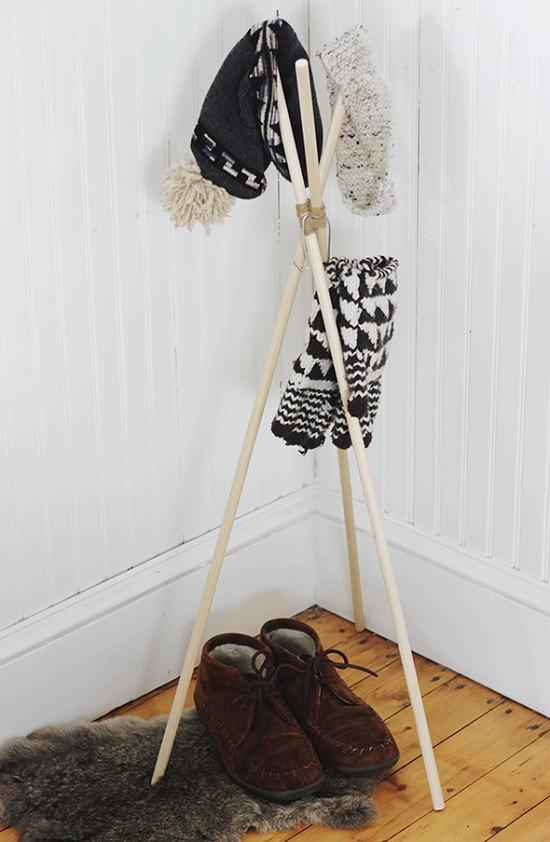 Homemade Hat Rack Ideas 5