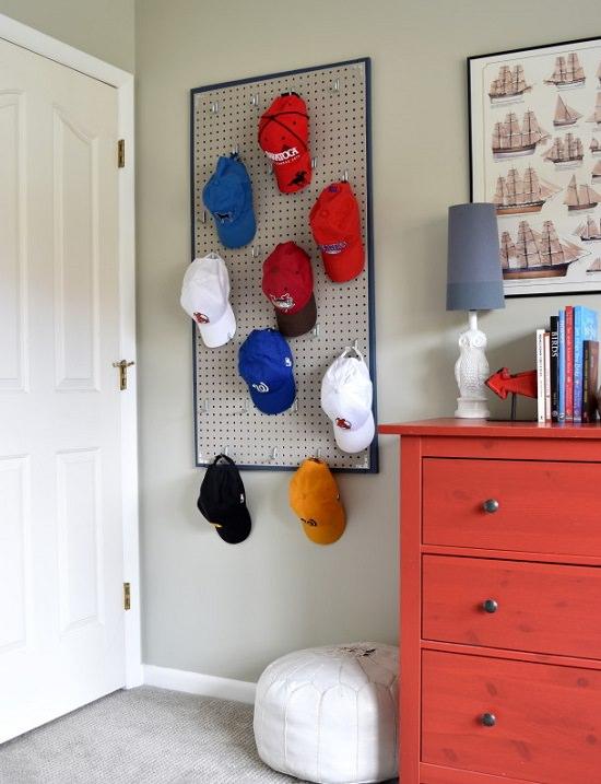 Homemade Hat Rack Ideas 7