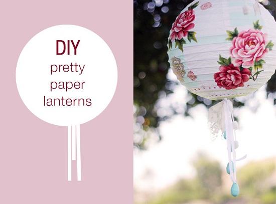 DIY Hanging Lanterns 11