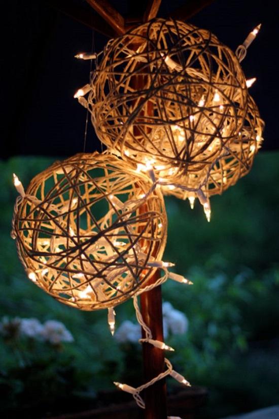 DIY Hanging Lanterns 12