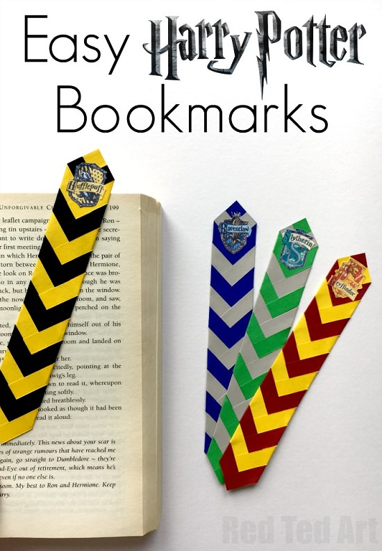Harry Potter Inspired Bookmark