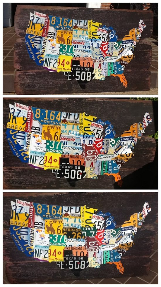 License Plate DIY Ideas
