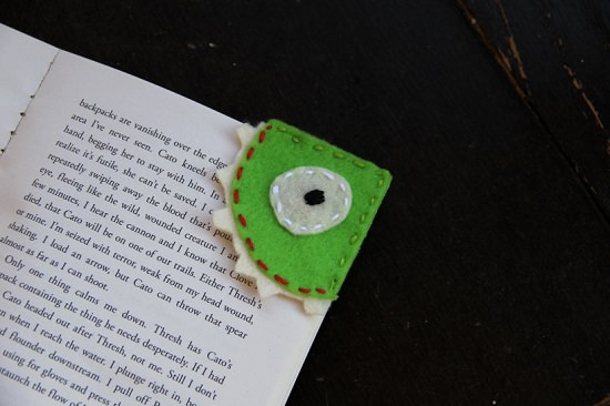 DIY Monster Bookmark