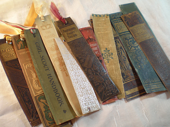 Repurposed Spine of Old Books