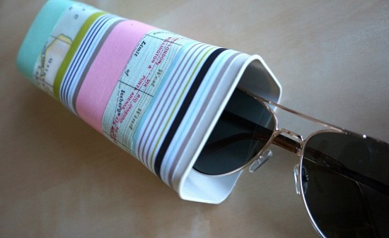 DIY Sunglass Case Ideas 16