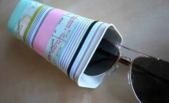 DIY Sunglass Case Ideas 16