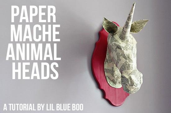 DIY Paper Mache Ideas 17