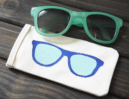 DIY Sunglass Case Ideas 7