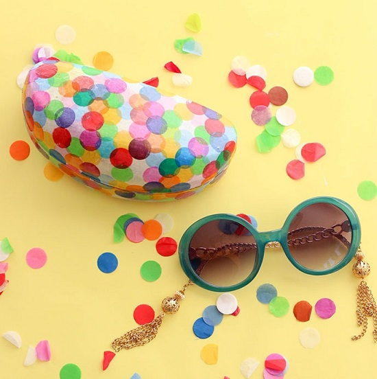 DIY Sunglass Case Ideas 31