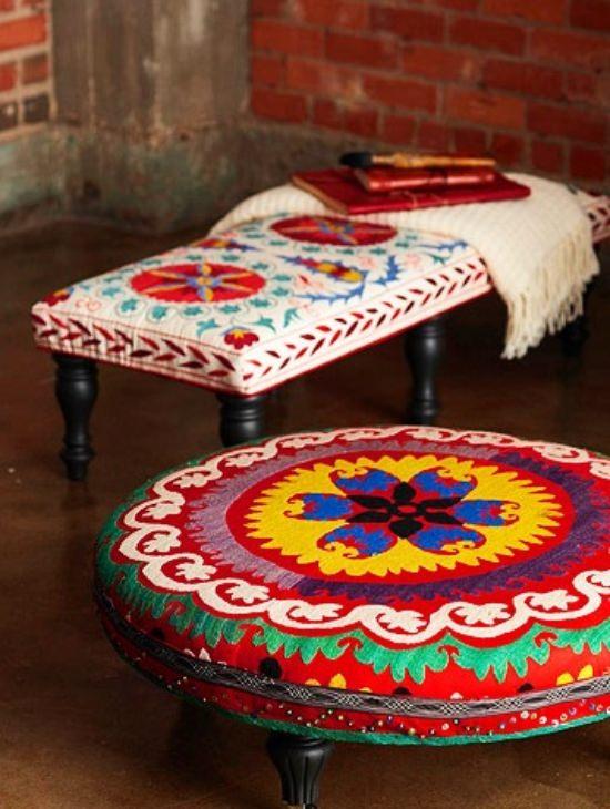 DIY Ottoman Ideas 17
