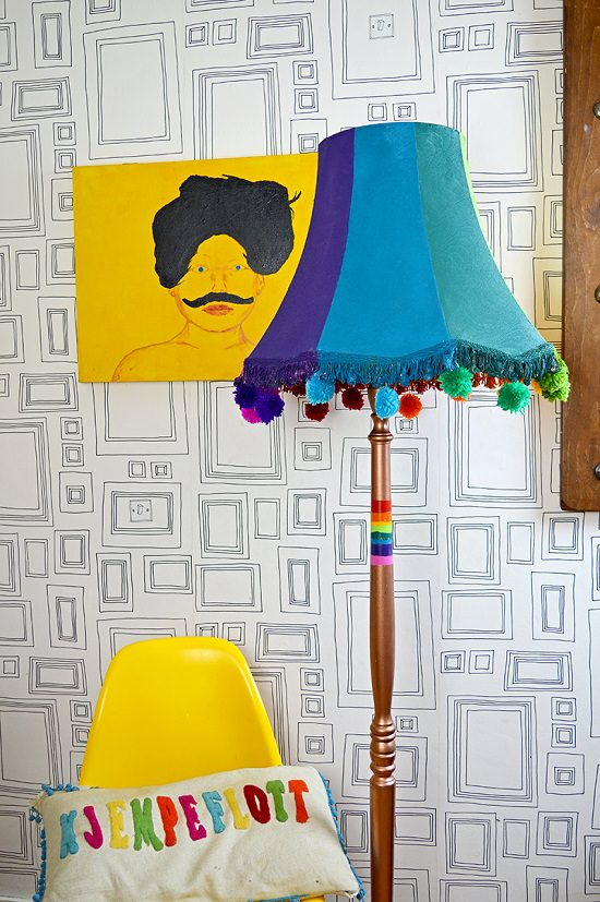 Easy DIY Lamp Ideas 16