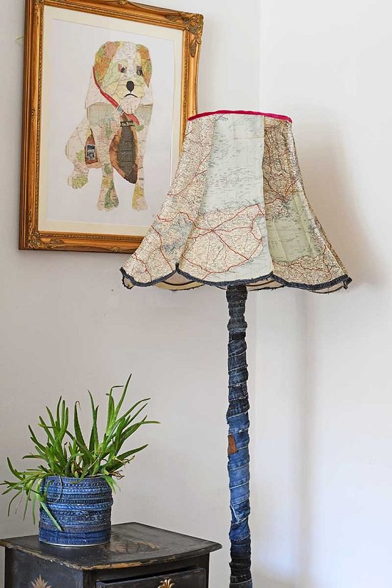 Easy DIY Lamp Ideas 17
