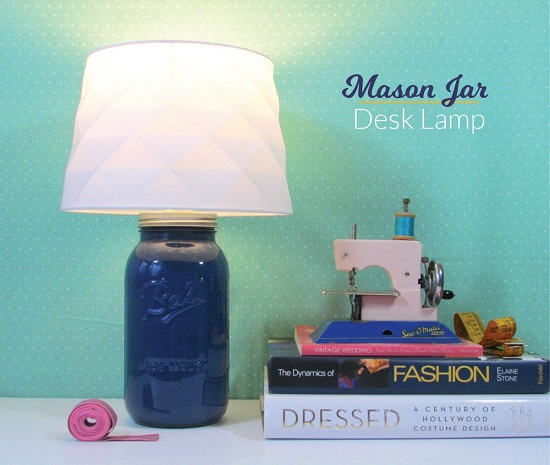 Easy DIY Lamp Ideas 20
