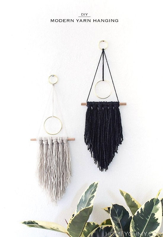 DIY Wall Hanging 20