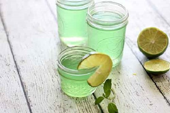 Homemade Mojito Gel Air Fresheners 7