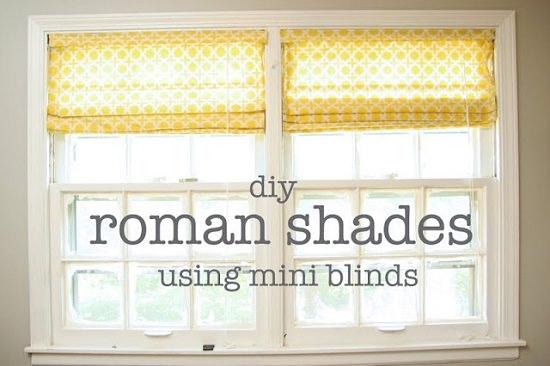 DIY Roman Shades 27