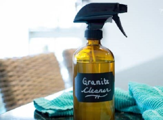 Easy DIY Granite Cleaner 1
