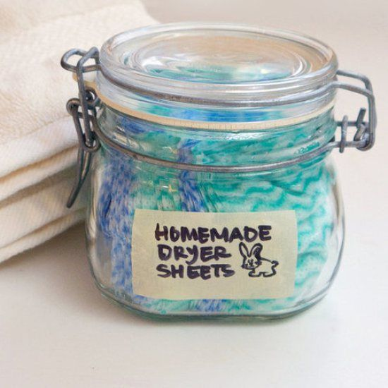 homemade dryer sheet recipes 2