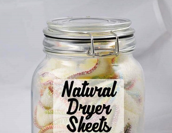 Natural Dryer Sheets