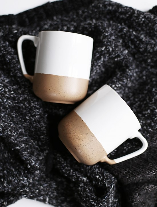 DIY Speckled Mug