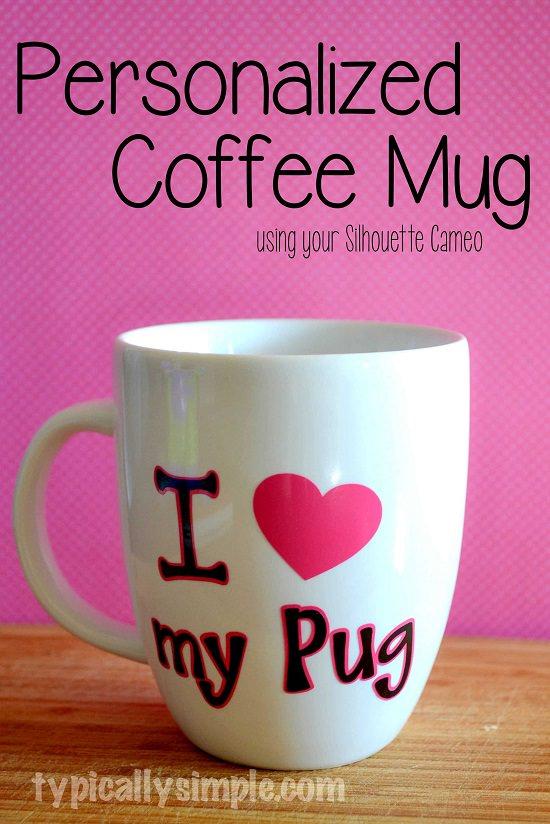 DIY Silhouette Cameo Coffee Mug