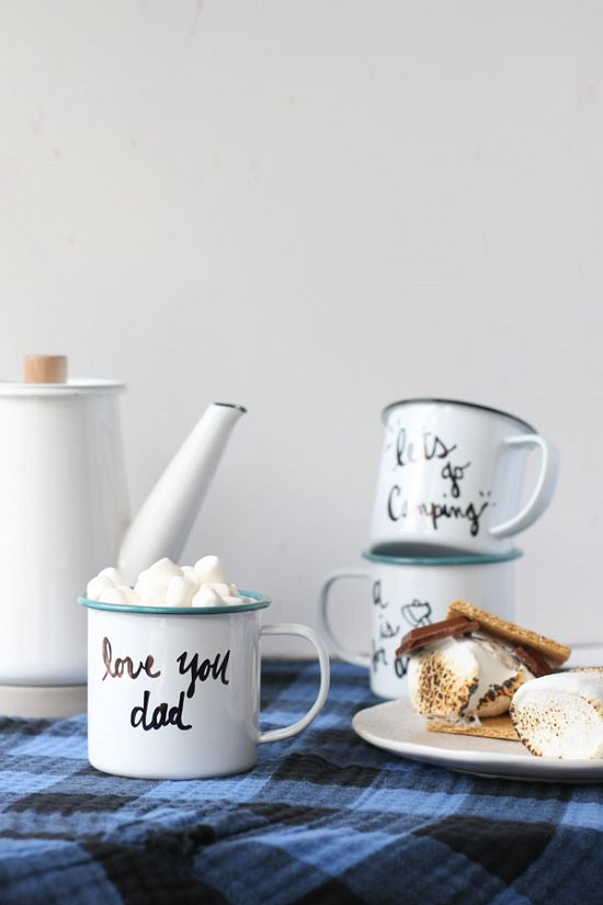 DIY Personalized Father's Day Mug