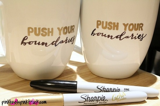 DIY Sharpie Quoted Mug