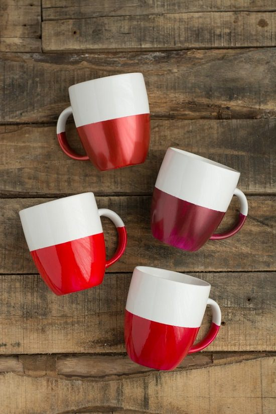 doy two toned coffee mug ideas