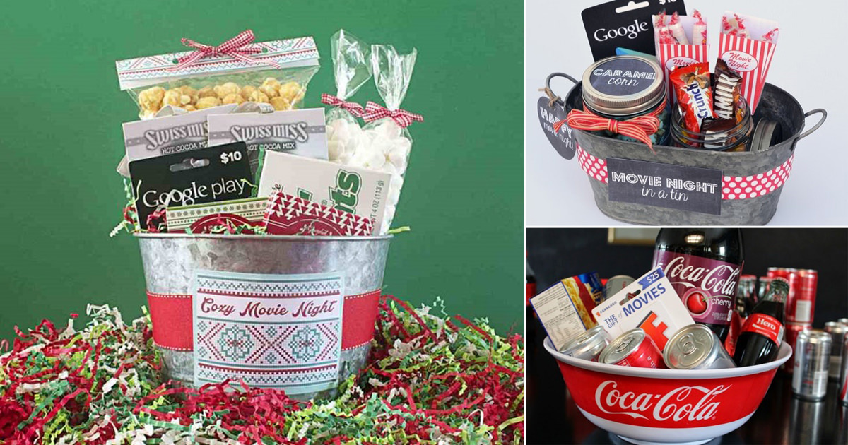 22 Diy Movie Night Gift Basket Ideas That Anyone Will Love Cradiori