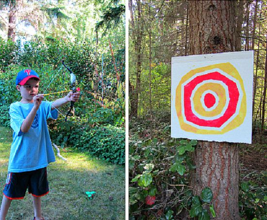 Kid Made Archery Target