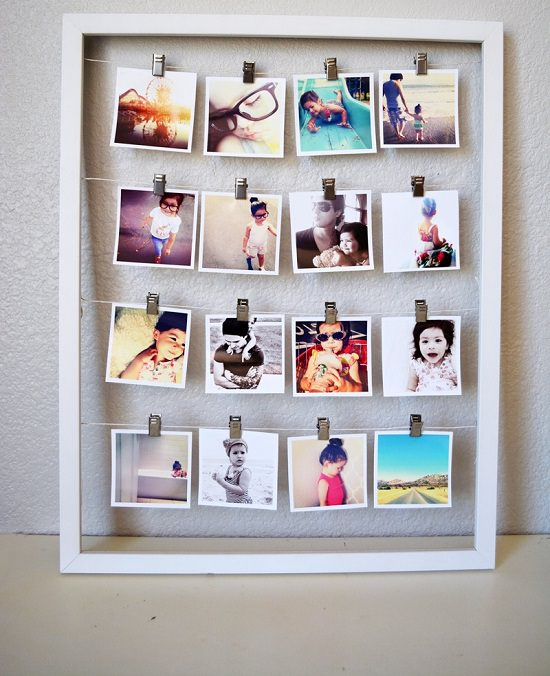 DIY memory wall ideas 1