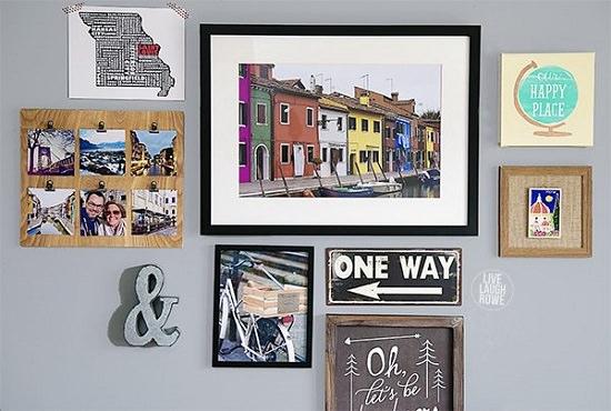 DIY memory wall ideas 3