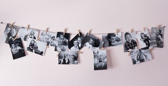 DIY Photography Wall Display
