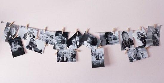 DIY Photography Wall Display