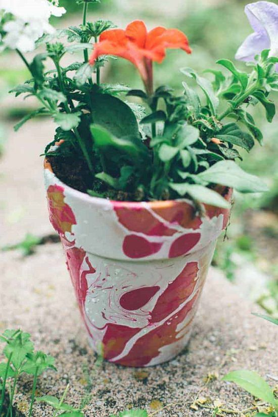 DIY Pot Painting Ideas 5