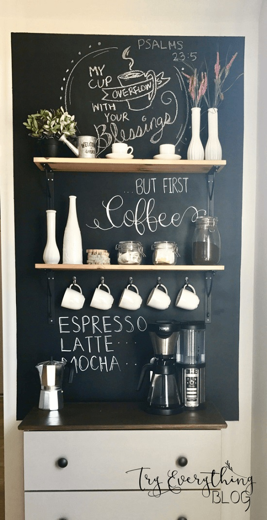 Coffee Decor Ideas bar
