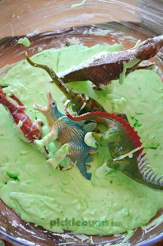 DIY Dino Slime
