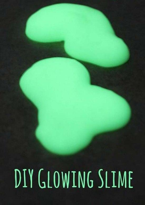 DIY Glitter Slime
