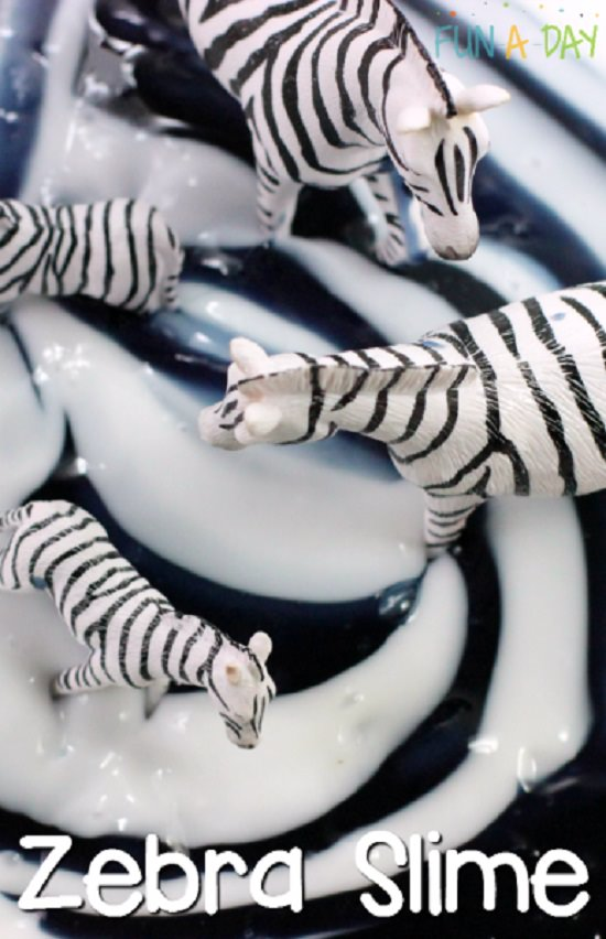 Easy Zebra Slime