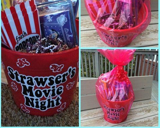 Movie Night Gift Basket Ideas 1
