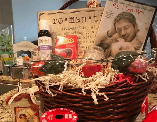 DIY Romantic Movie Night Redbox Gift Basket