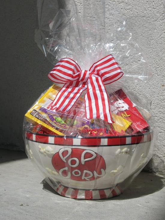 Wedding Gift: Movie Night Gift Basket