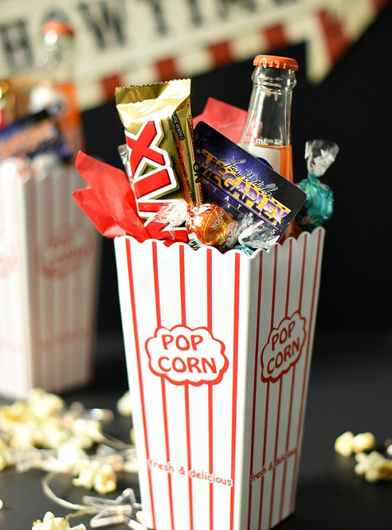 22 Diy Movie Night Gift Basket Ideas That Anyone Will Love