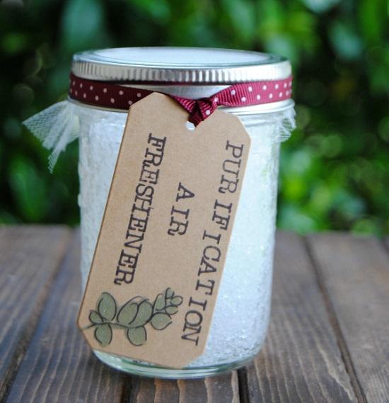 Mason Jar Air Freshener