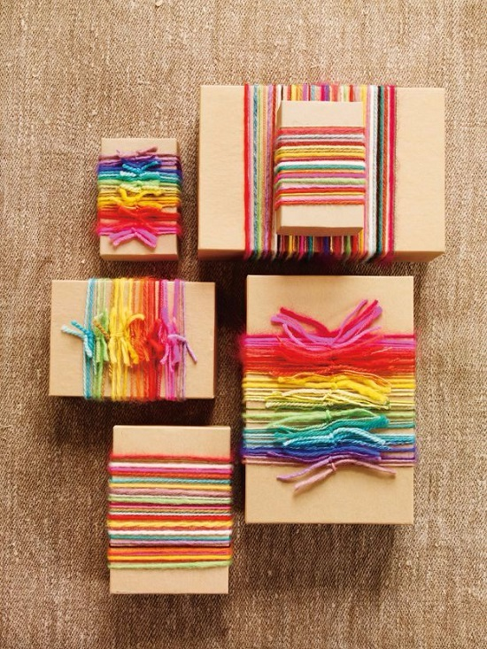 this is such a creative crafts to do with yarn