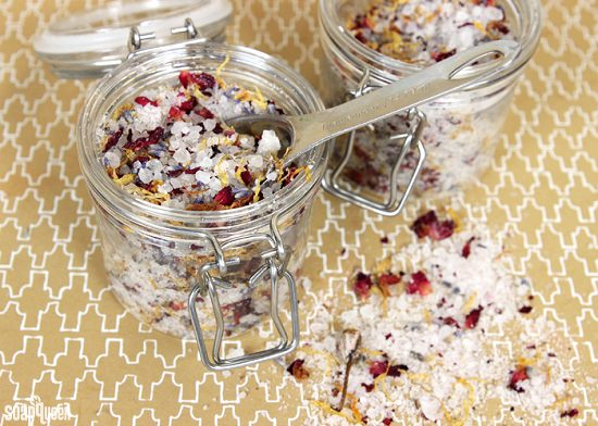 Homemade Bath Salts Recipes 1