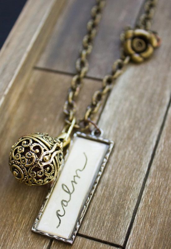 DIY Essential Oil Diffuser Necklace