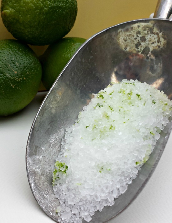 Coconut Lime DIY Bath Salts