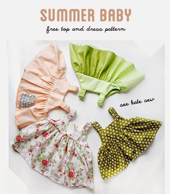 DIY Baby Clothes Pattern